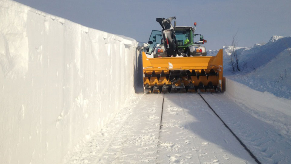 Claussen Farms Snow Removal